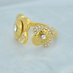 Henri Bendel Diamond Open Flower Ring